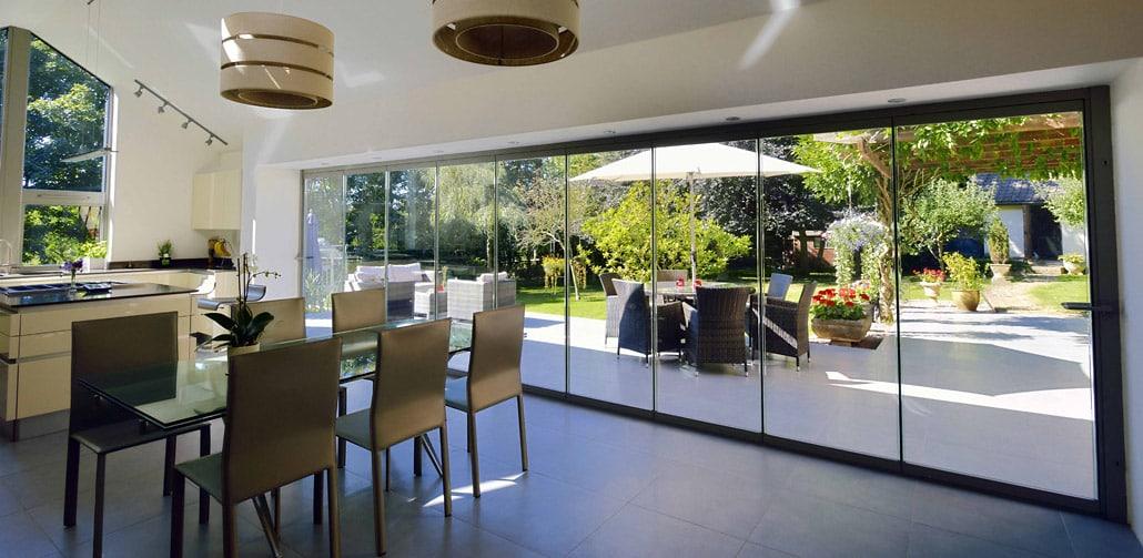 Gentil Frameless Bifolding Doors Offer Several Advantages Over Sliding Patio Doors.