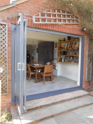 Should bifolding doors open in or out?