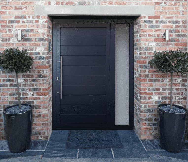 Picture of dutemann front door.